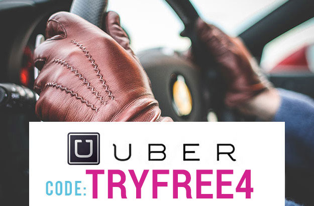 Uber Promo Code 2017 : Use coupon TRYFREE4 for $20 off!
