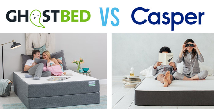 Ghost Bed Vs Casper A Comparison Review Of The Two Popular Mattress