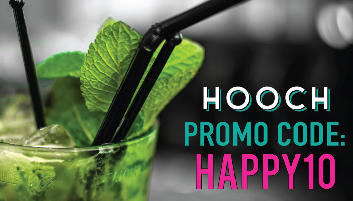 Hooch Promo Code: Enter HAPPY10 and get a month of drinks for $1. Plus, read our review! @HoochApp
