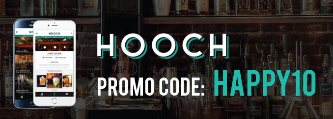Hooch Promo Code: Enter referral code HAPPY10 and get a month of drinks for $1. Plus, read our review! @HoochApp