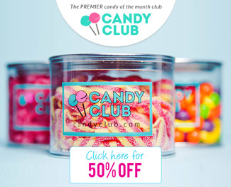 Monthly Candy Club Coupon Code: Get 50% and read our Candy Club Review