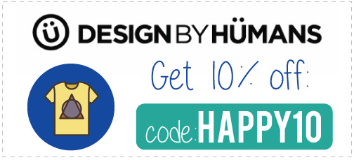 Design By Humans Coupon Code: Use HAPPY10 for 10% off, plus read our Design by Humans REview!