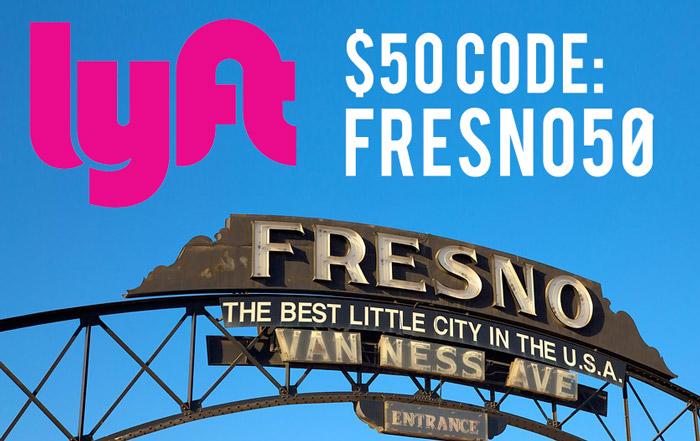 Lyft Fresno: Use Lyft credit code