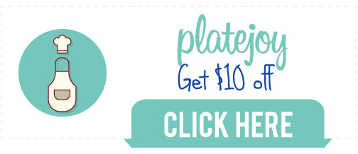 PlateJoy Coupon Code for $10 off, plus a PlateJoy Review