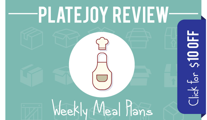 Read our PlateJoy review and get a $10 PlateJoy Coupon Code link