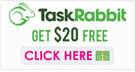 TaskRabbit Promo Code: Get $20 free via our Refer a Friend link!