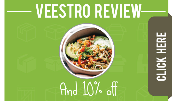 Veestro Vegan Meal Subscription Review. Plus Veestro Promo Code info!