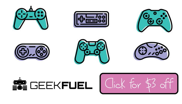 Geek Fuel Discount Code: Get $3 off this Gamer Subscription Box