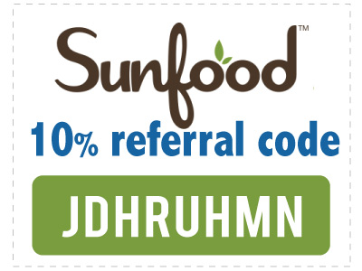 Sunfood coupon code