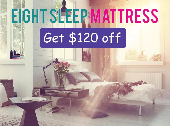 Eight EightSleep Mattress Promo Code: Get up to $120 off your mattress!