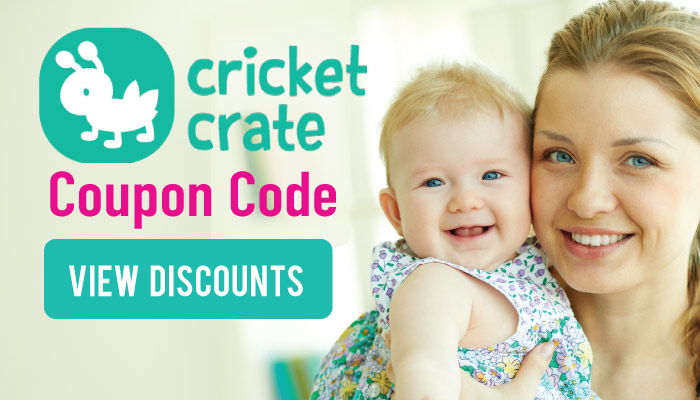 Cricket Crate Promo Code: View available deals for baby's first subscription!
