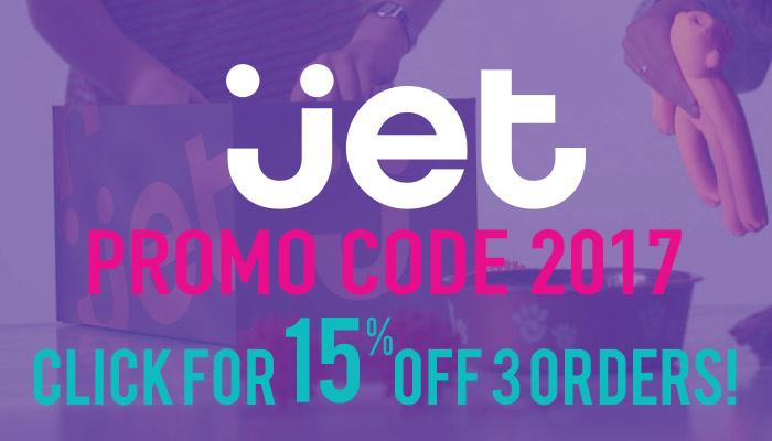 Jet.com Promo Code 2017: Get 15% off three orders, plus free shipping!