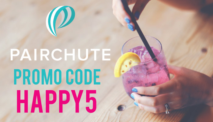 What is PairChute? It's a free food and drinks app in LA. Get $5 off your first month with the Pairchute promo code HAPPY5