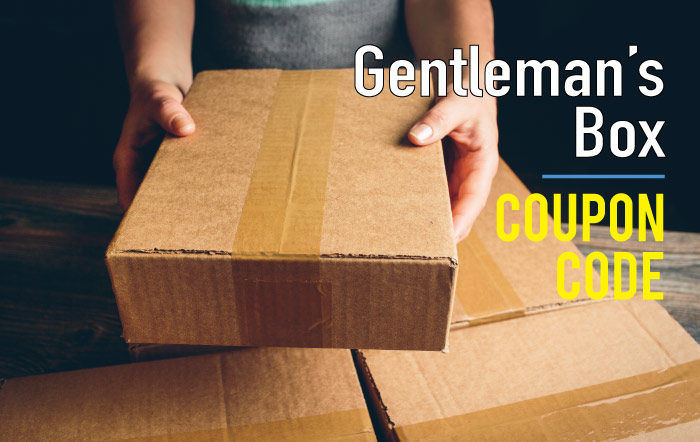 Gentleman's Box Coupon Code: Get $5 off the monthly subscription for men!