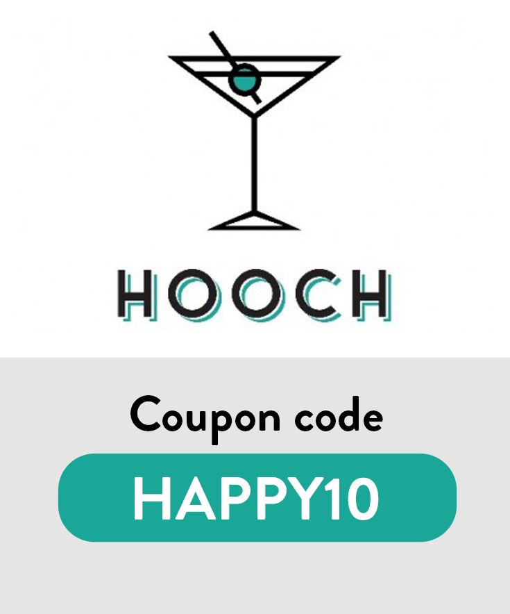 Hooch Coupon Code: $1 month with code HAPPY10