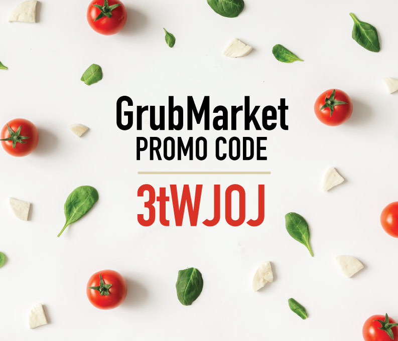 GrubMarket Promo Code: Use 3tWJOJ to get $15 off your Grub Market order!
