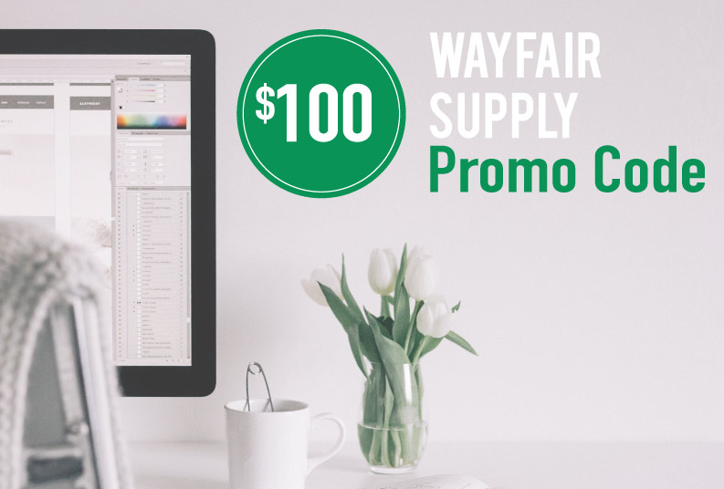 Wayfair Supply Promo Code: Get $100 off your order