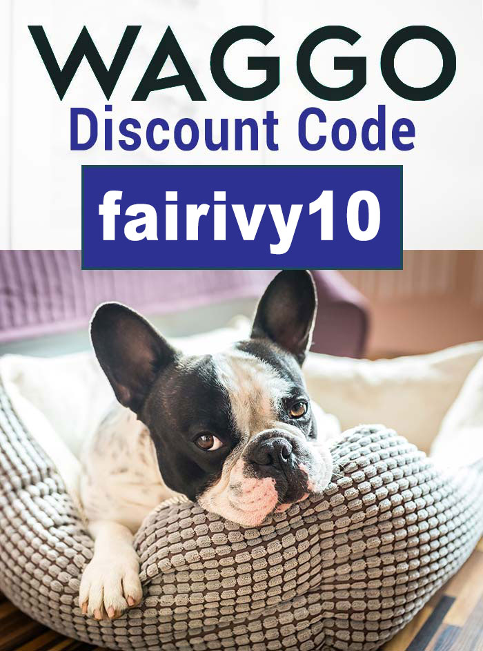 Waggo Discount Code: Get 10% off with the promo code fairivy10