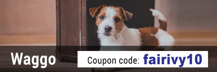 Waggo Promo Code: Get 10% off with the promo code fairivy10