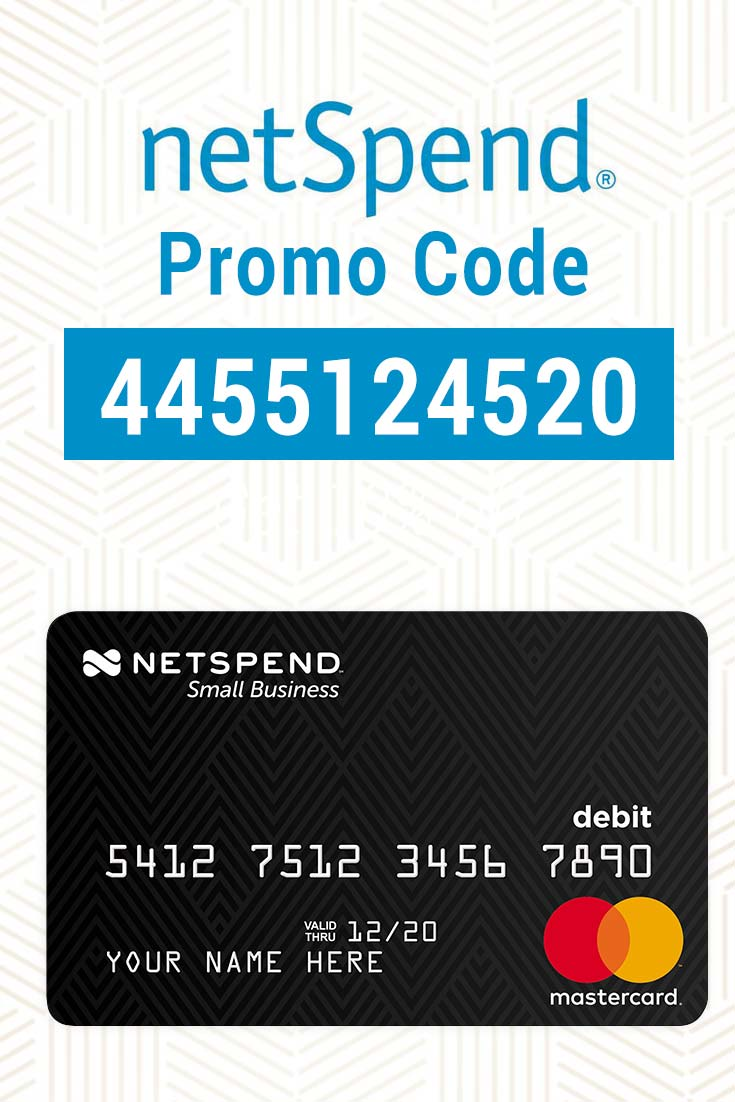 NetSpend Promo Code: Use 4455124520 for $20 in free cash deposits