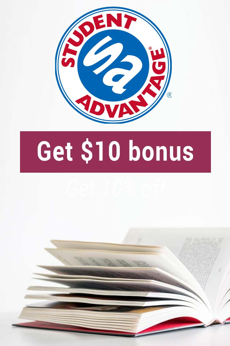 Student Advantage Promo Code: Get $10 free cash with signup!