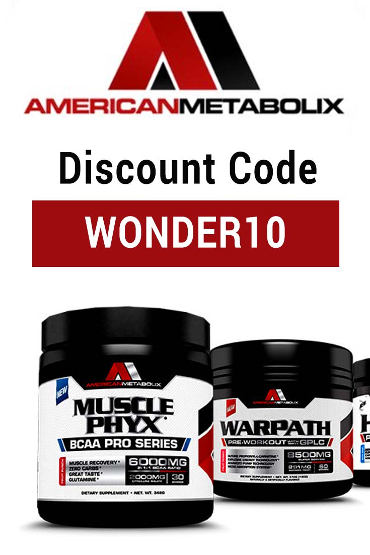 American Metabolix Discount Code: Use WONDER10 for 10% off your order