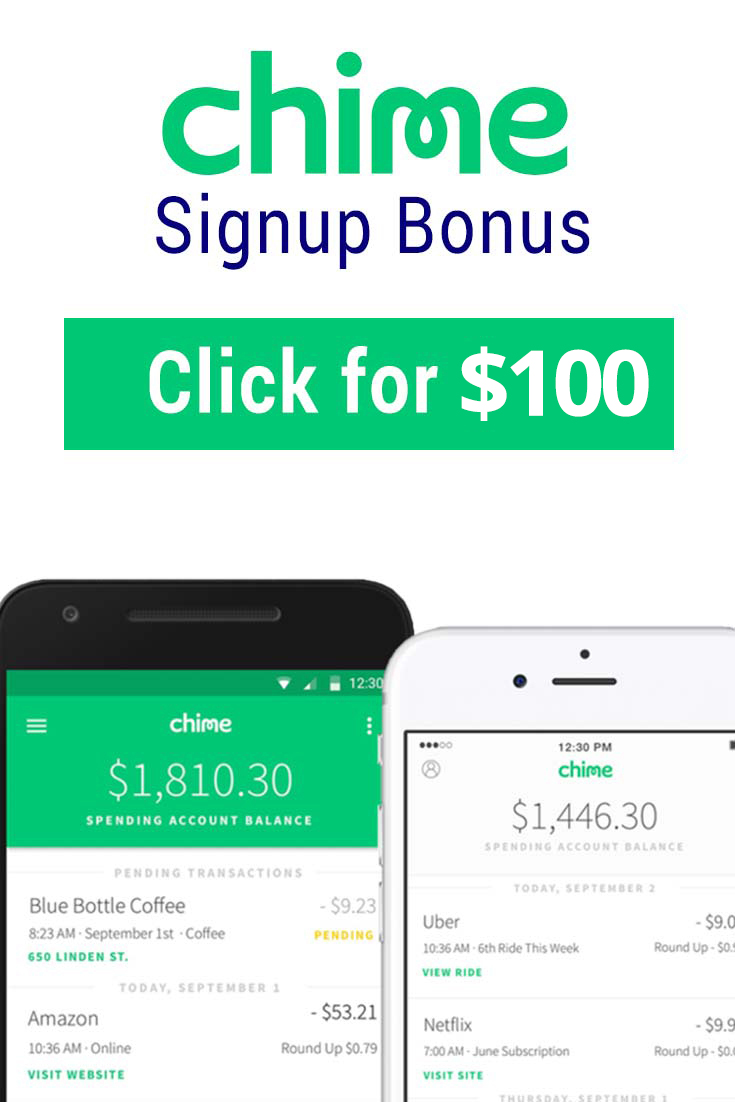 Chime App Promo Code: Get $100 with this referral link