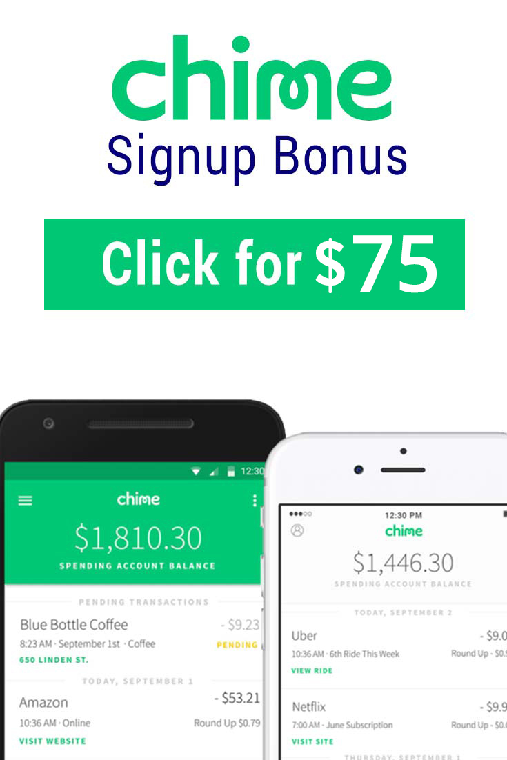 Chime App Promo Code: Get $75 with this referral link