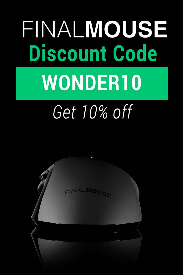 Final Mouse Discount Code: Get 10% off with code WONDER10