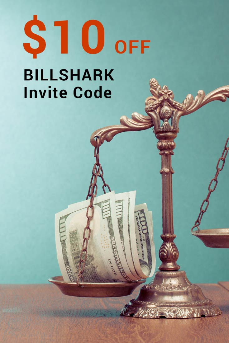 BILLSHARK invite Codes: Get $10 Off BILLSHARK bill negotiator