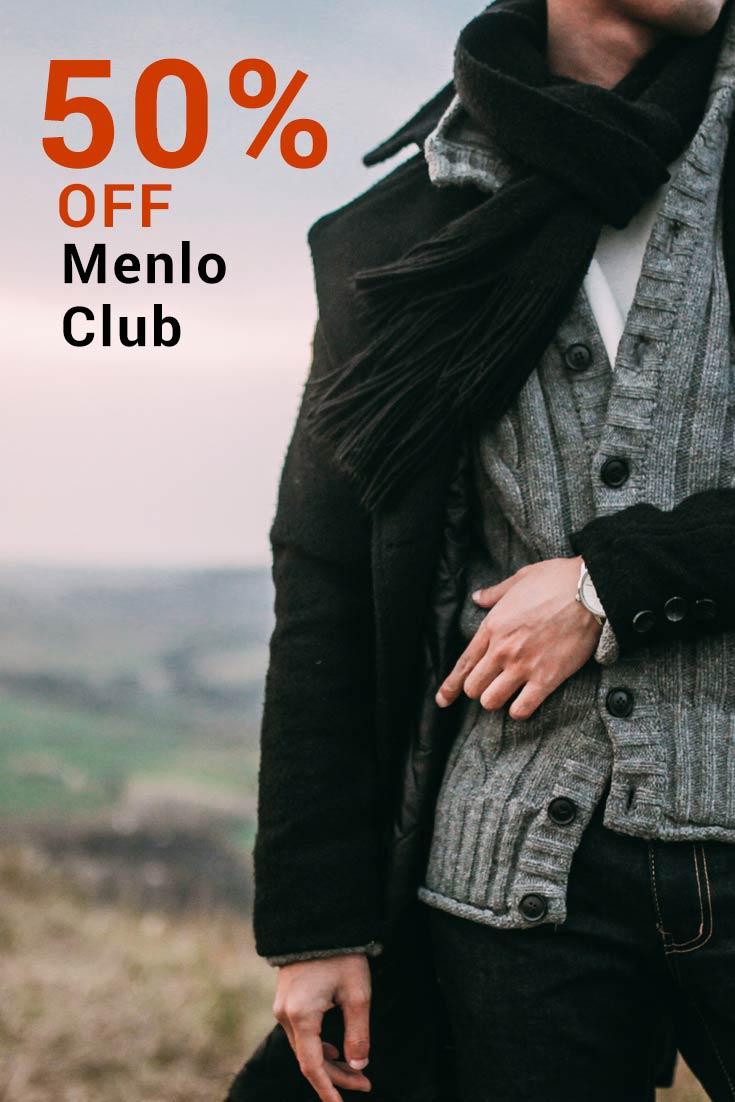 Menlo Club Promo Codes: Get up to 50% Off Menlo Club
