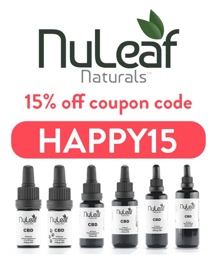 Nuleaf Naturals Discount Code | 15% off with code: HAPPY15