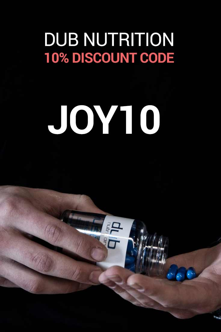 Dub Nutrition Discount Codes: 10% Off with code JOY10
