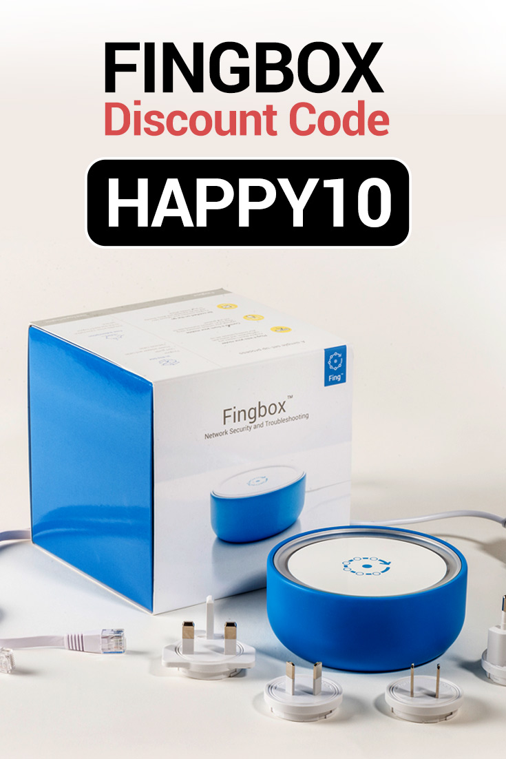 Fingbox Discount Codes: $10 Off with code HAPPY10