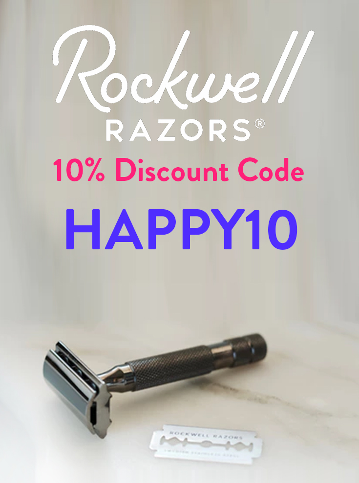 Rockwell Razors Discount Code: Get 10% off with code HAPPY10