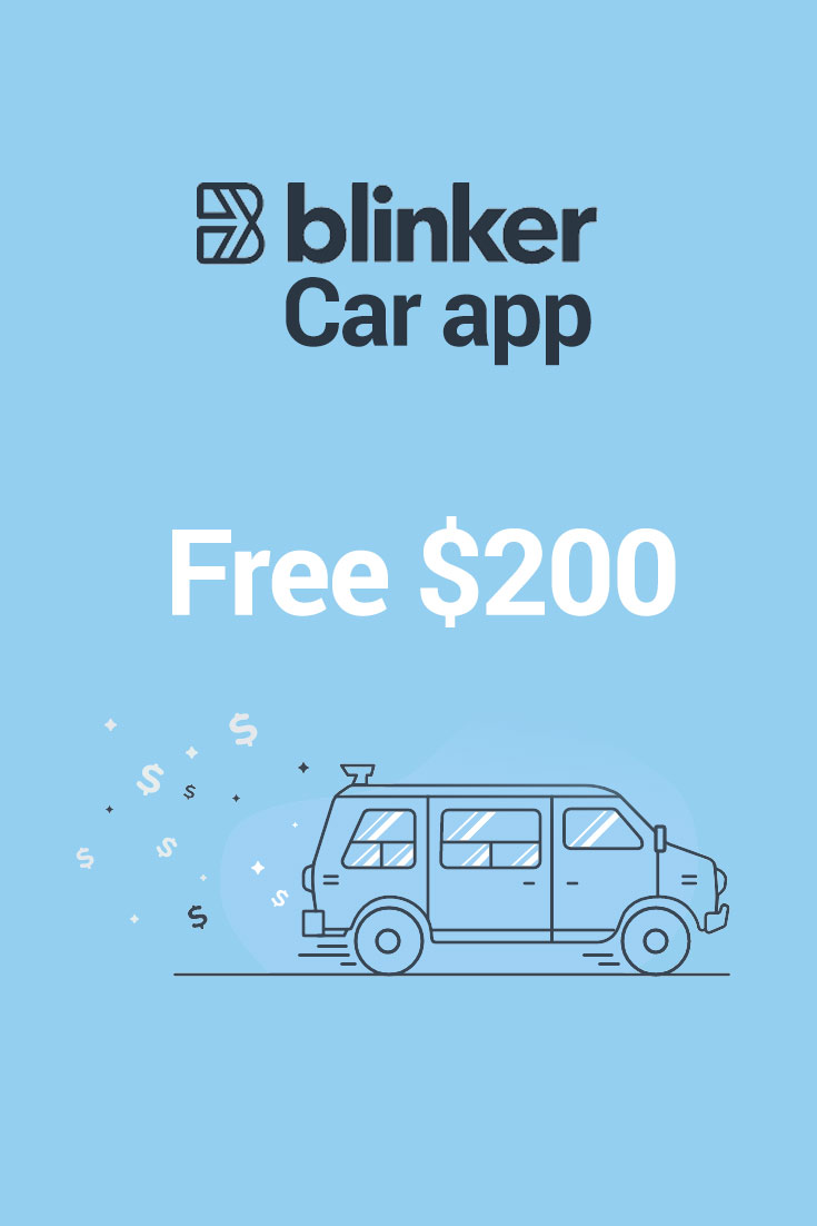 Blinker Car App Promo Codes: $200 Free with Code LF63J2DK