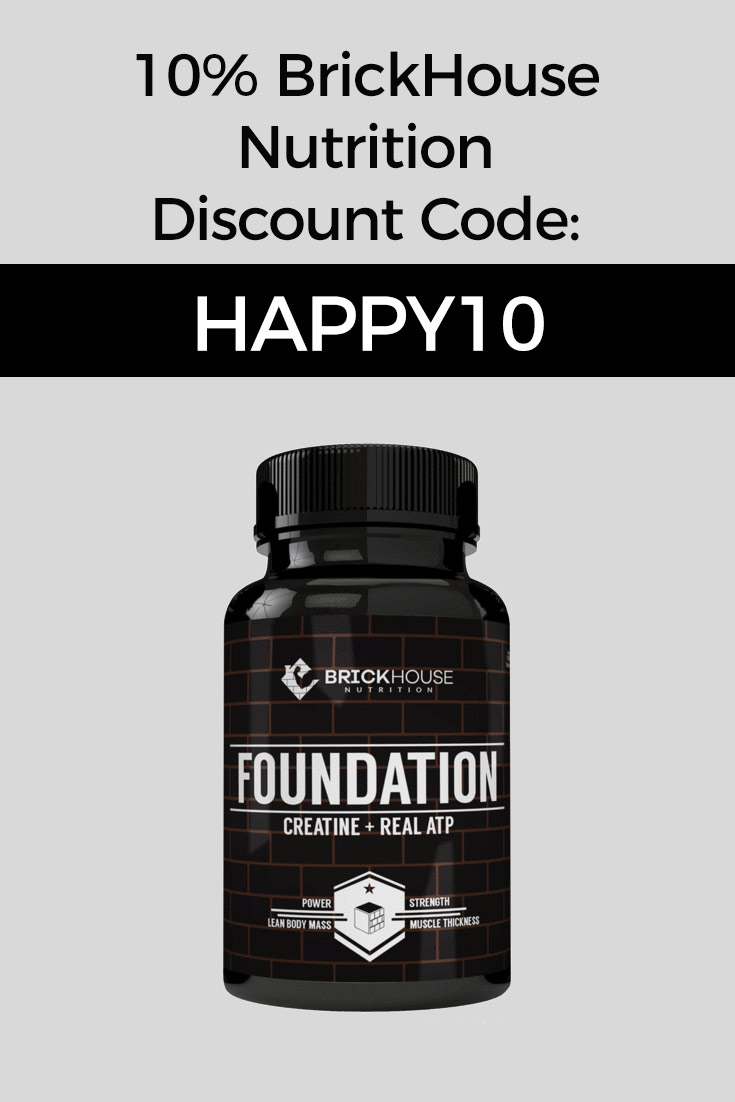 BrickHouse Nutrition Discount Codes: 10% Off with code HAPPY10
