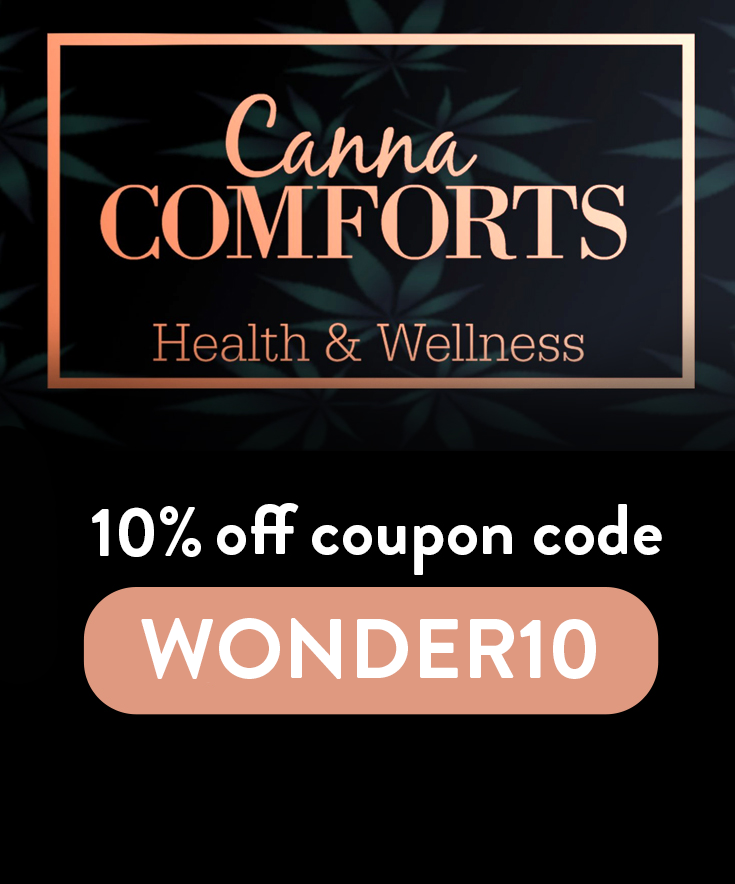 Canna Comforts Discount Code: Get 10% off with code WONDER10