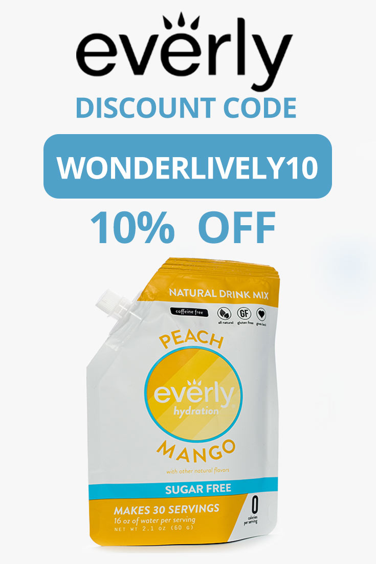 Everly Discount Code: Get 10% off with code WONDERLIVELY10
