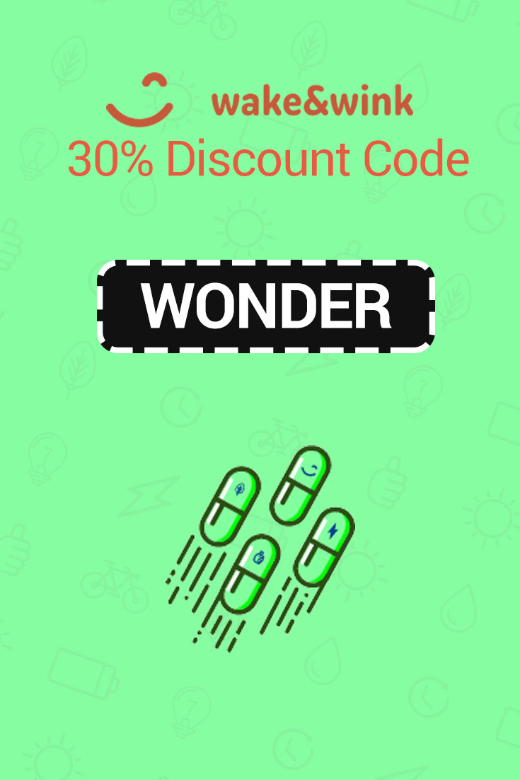 Wake And Wink Discount Codes: 30% Off with code WONDER