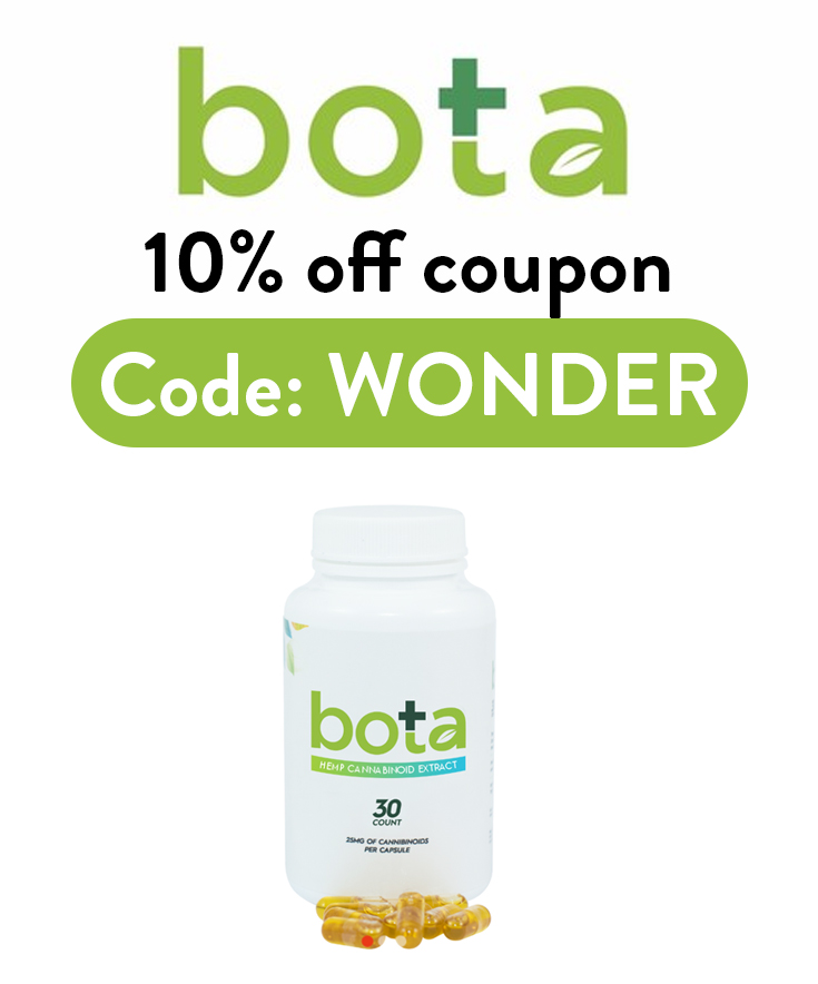 Bota Hemp Coupon Code: Get 10% off with code WONDER