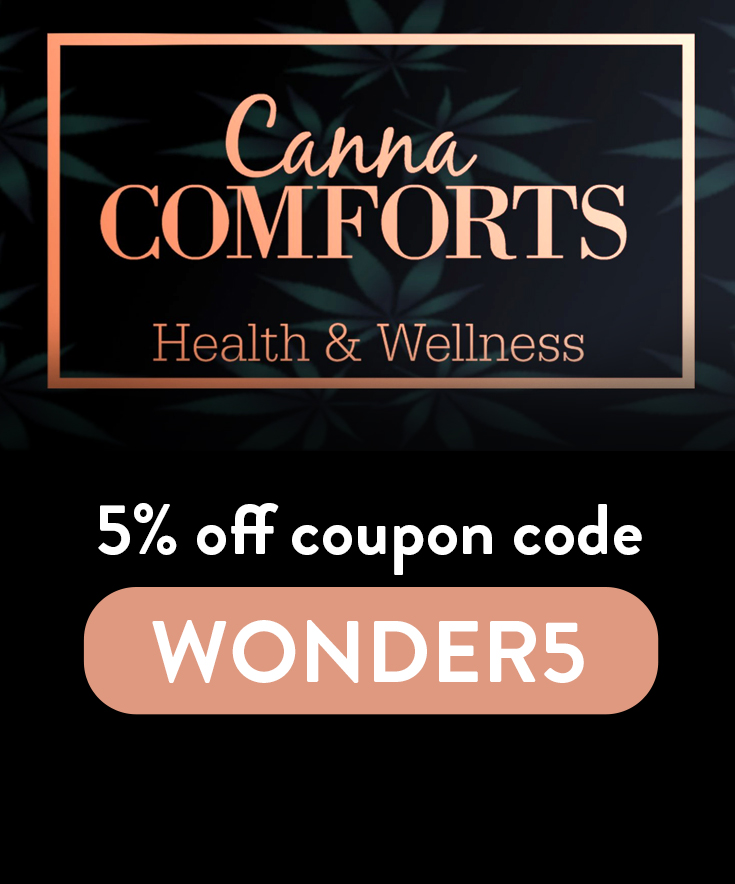 Canna Comforts Discount Code: Get 5% off with code WONDER5
