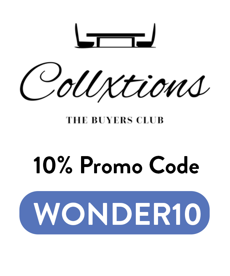 Collxtions Discount Code: Get 10% off with code WONDER10