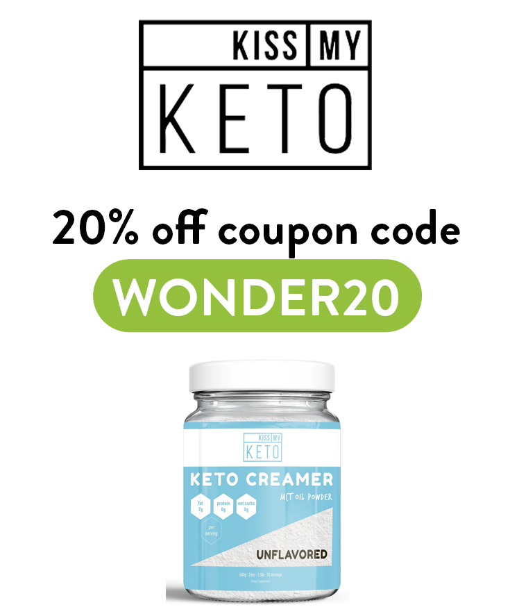 Kiss my Keto Discount Code: Get 20% off with code WONDER20