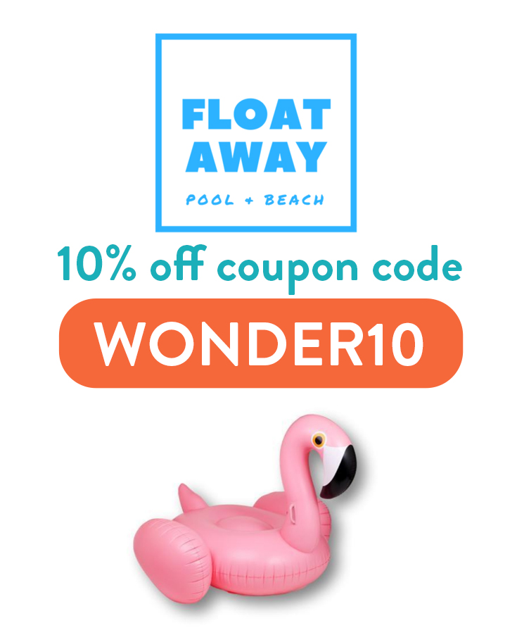 Floataway Store Discount Code: WONDER10 for 10% off