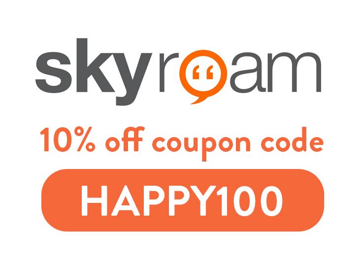 Skyroam Coupon Code: Get 10% off with discount code HAPPY100