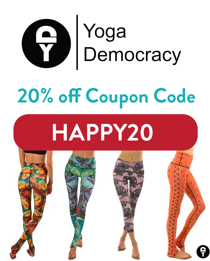 Yoga Democracy Coupon Code: Get 20% off with code HAPPY20