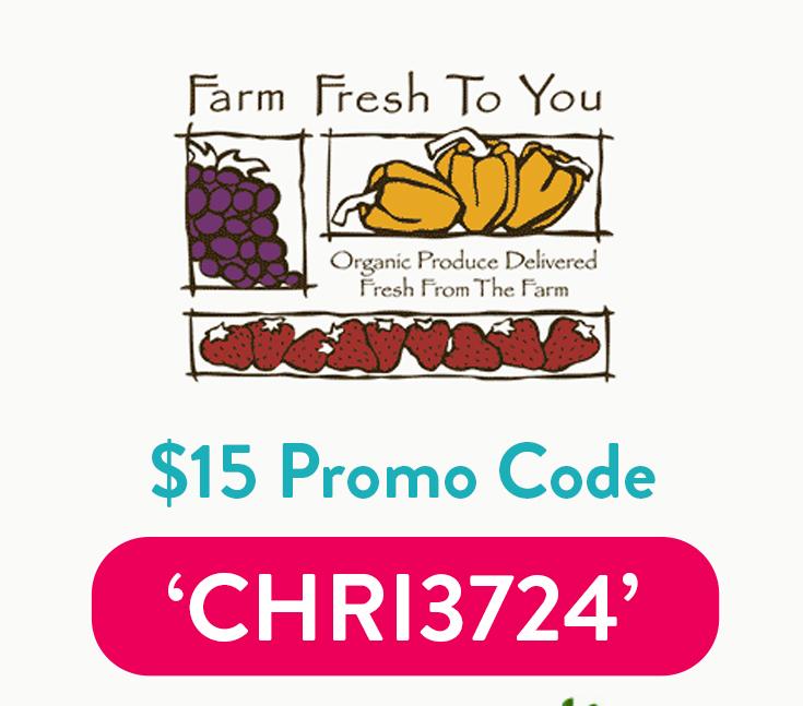 FarmFreshtoYou Coupon Code | $15 off with code: CHRI3724