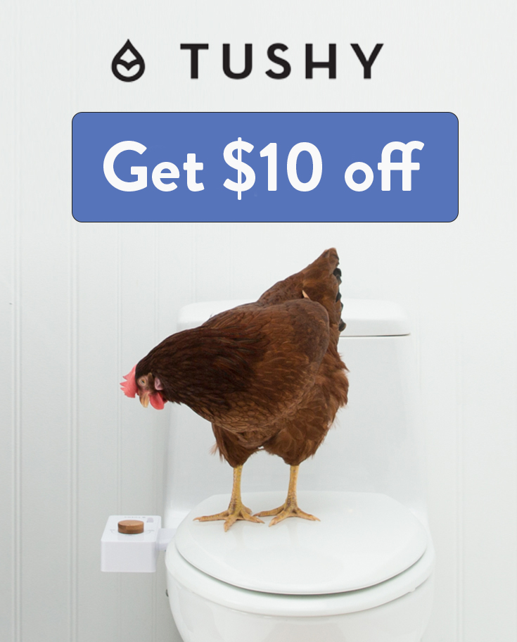 Hello Tushy Discount Code | Use this link to get $5 off your bidet!
