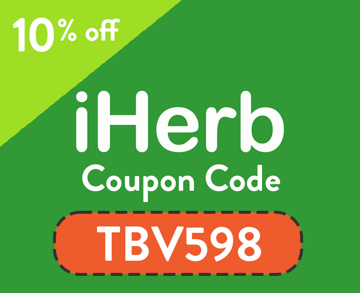 iHerb Coupon Code 2019 | 10% off with code: TBV598